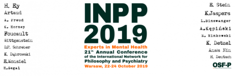 Konferencja INPP 2019 - Experts in Mental Health