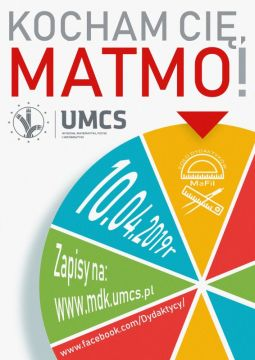 "Konkurs ,,Kocham Cię, matmo!"" - 10.04.2019 r."