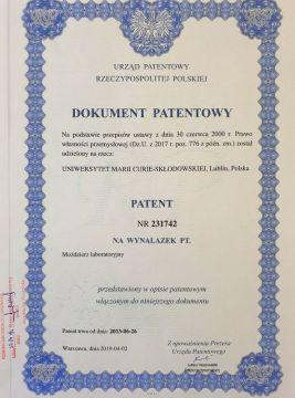 Patent dla UMCS
