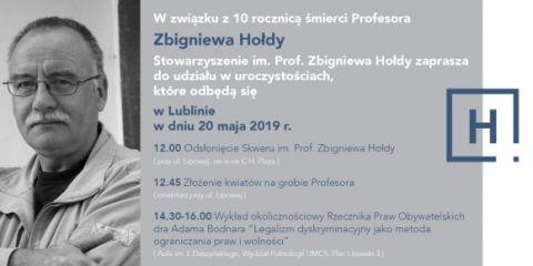 Pamięci Profesora Zbigniewa Hołdy