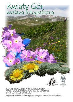 """Wernisaż wystawy fotograficznej """"Kwiaty gór"""""""