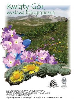 """Wystawa """"Kwiaty Gór"""" w Ogrodzie Botanicznym"""