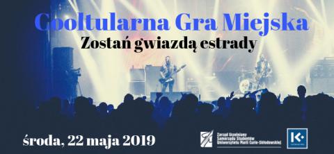 """""""Coolturalna gra miejska: Zostań Gwiazdą Estrady"""" (22.05.)"""