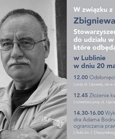 IN MEMORY of Prof. Zbigniew Hołda