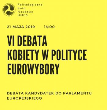 Debata kandydatek do Parlamentu Europejskiego