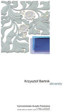 "prof. Krzysztof Bartnik  ""Akvarely"", galeria- foyer..."