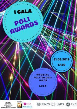 I Gala Poli Awards dziś o 17.30