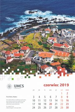 Czerwiec 2019 - nowa plansza wydziałowego kalendarza