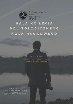 Gala 20. lecia Politologicznego Koła Naukowego