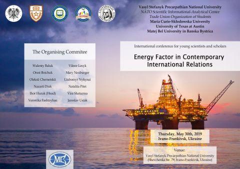 """Energy Factor in Contemporary International..."
