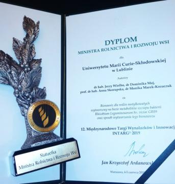 Wynalazek naukowców z UMCS nagrodzony