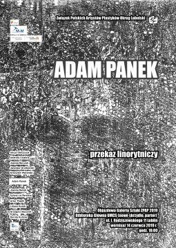 """Wystawa """"Przekaz linorytniczy"""" dra hab. Adama Panka"""