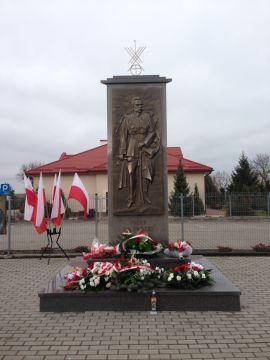 Pomnik Józefa Piłsudskiego w Ciechankach Łancuchowskich