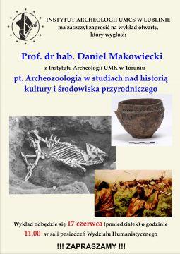 Wykład prof. Daniela Makowieckiego