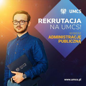 Wybierz Administrację publiczną na UMCS
