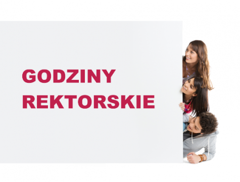 Godziny rektorskie na 13.06.2019 r.