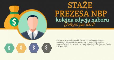 Staże Prezesa NBP