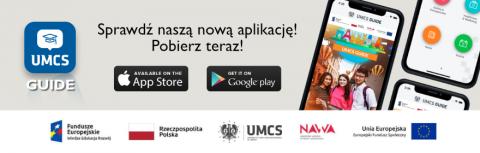 Najnowsza aplikacja mobilna - UMCS Guide