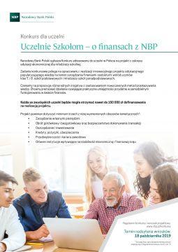 Konkurs dla uczelni: Uczelnie Szkołom – o finansach z NBP