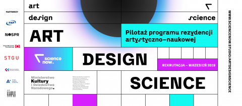 Startuje pilotażowy program rezydencji ART+DESIGN+SCIENCE