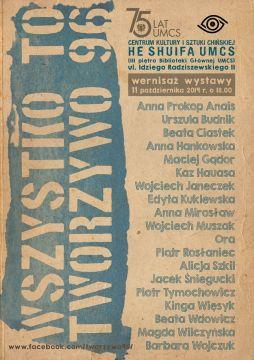 Wystawa grupy Tworzywo 96