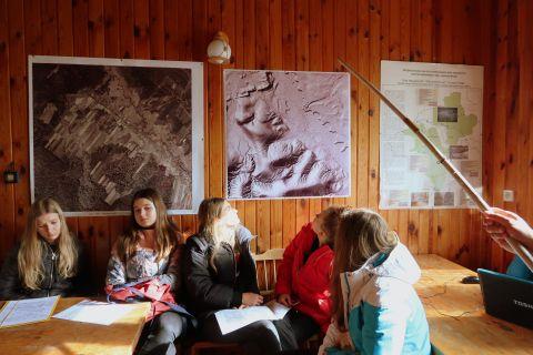 Ekofizjografia wsi Guciów - warsztaty dla uczniów