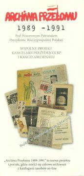 """VIII Seminarium projektu """"Archiwa Przełomu..."""