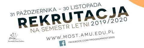 Program MOST 2019/2020