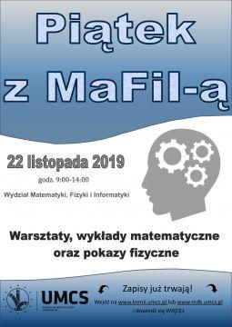 Piątek z MaFiI-ą 22 listopada 2019 r.