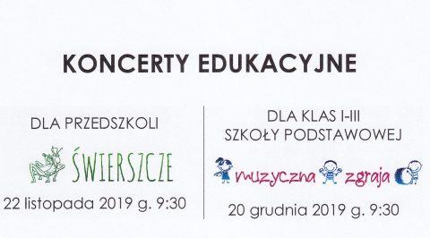 """Koncert Edukacyjny z cyklu """"Lubimy Muzykę"""""""