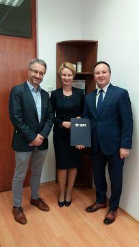 Podpisanie porozumienia o współpracy z gminą Wisznice