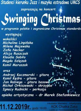 "Zaproszenie na koncert ""Swinging Christmas"""