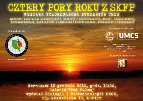 """Wernisaż wystawy """"Cztery Pory Roku z SKFP"""""""