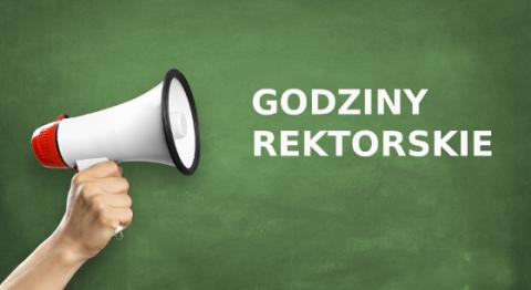 Godziny rektorskie - 17 XII (od godz. 15:00)