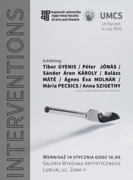 "INVITATION TO EXHIBITION ""INTERVENTIONS"""