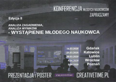 Konferencja Młodych Naukowców-II edycja
