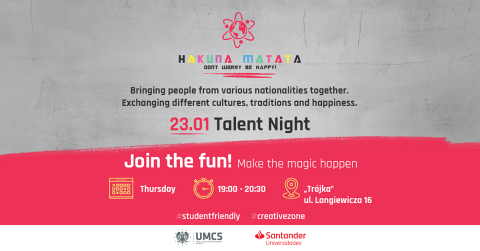 Hakuna Matata-Talent Night!