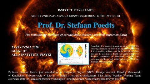 Wykład prof. dr. Stefaana Poedtsa - 23.01.2020 r.