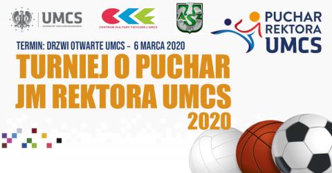 Zgłoś się do Turnieju o Puchar JM Rektora UMCS!