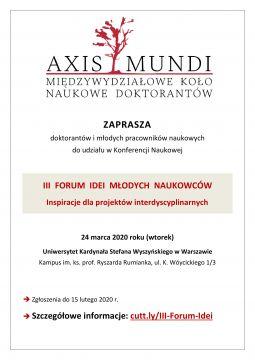 Forum idei - Zaproszenie