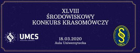 XLVIII Środowiskowy Konkurs Krasomówczy