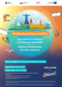Multicultural Days at UMCS - Explore South America