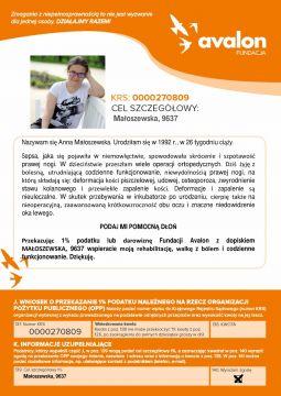 Pomoc dla Anny Małoszewskiej
