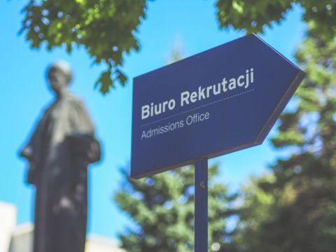 Informacja o trybie pracy Biura Rekrutacji