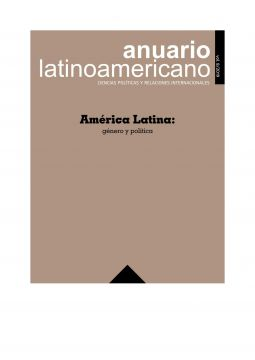 "The eighth volume of ""Anuario Latinoamericano"""