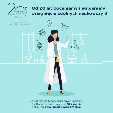 """Program stypendialny L'Oréal-UNESCO """"Dla Kobiet i Nauki"""""""