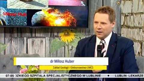 O zmianach środowiska - dr inż. M. Huber w TVP Lublin
