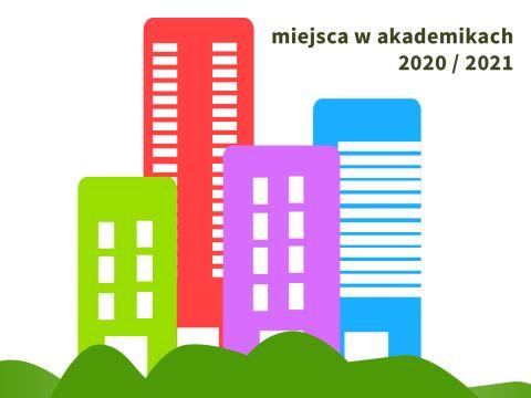 Wnioski o miejsce w domach studenckich - terminy (2020/2021)