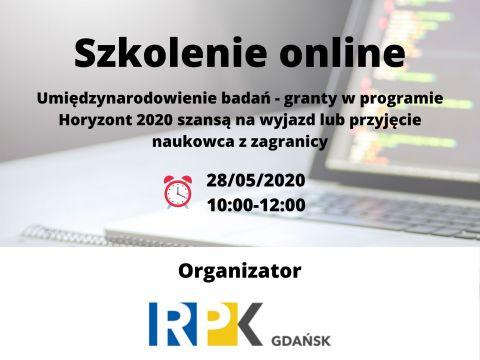 Szkolenie on-line: Akcje Marii Curie-Skłodowskiej w...