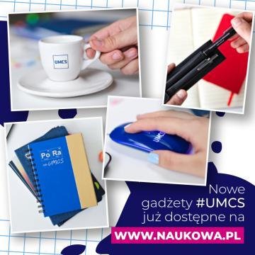 Nowe gadżety UMCS